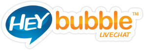Hey bubble livechat logo
